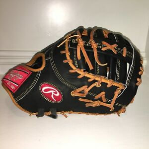"""NEW Rawlings PRODCTDC44PRO Heart Hide First Base Baseball Glove 12.5""""  PRO ISSUE"""