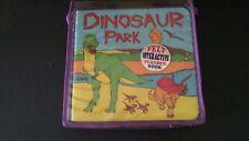 Felt Dinosaur Park interactive playbook set