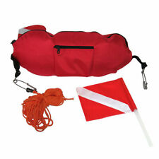 Torpedo Float & Flag Buoy Diver Below Scuba Diving Spearfishing Free Dive Sign