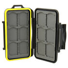 Water-Resistant Anti-shock Storage Holder Memory Card Case for 12 SD cards JJC