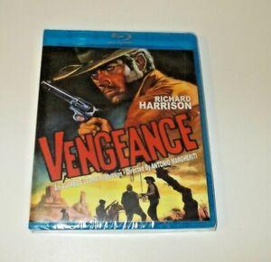 Vengeance Blu Ray Brand New  Region free Code Red 114 Richard Harrison