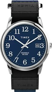 Timex Mens Watch TW2U85000, Fabric strap, Indiglo Night Light