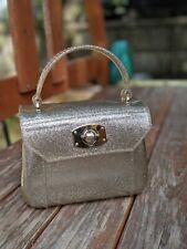 Furla Mini Candy Bon Bon Glitter Turn Lock Bag