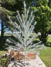6 FOOT STAINLESS ALUMINUM XMAS TREE BOX STAND SPECIALTY MANITOWOC WISCONSIN USA
