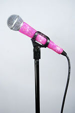 MicFX PRETTY IN PINK MICROPHONE SLEEVE / FITS CORDED MICROPHONES