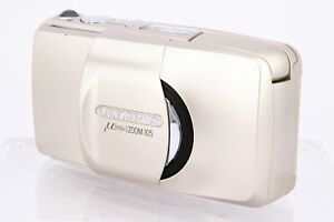 OLYMPUS MJU ZOOM 105 QD 35mm film camera PARTS ONLY