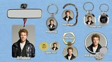 BON JOVI KEYRING FRIDGE MAGNET PURSE BOTTLE OPENER TROLLEY MEMORABILIA
