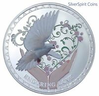 2012 ENDURING LOVE Coloured Silver Proof Coin