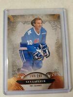 Guy Lafleur 2020-21 UD Artifacts Copper Parallel 160/299 Quebec Nordiques