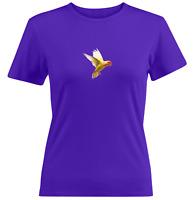 Cute Parrot Yellow Bird Juniors Girl Women Tee T-Shirt Gift Print Short Sleeve