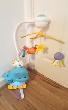 VTech Baby 2-in-1 Ocean Sounds Whale Mobile cot Toy .