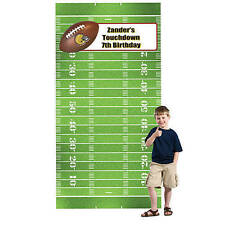 Football Party Zone Personalized Photo Booth Background