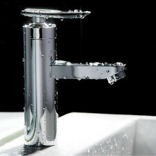 Wash Basin Faucet Mixer Water Taps Floor Mount Two Hole Basin Hot&Cold Kitchen