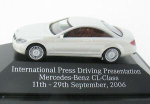 Herpa Mercedes-Benz CL-Class International Press Driving Presentation 2006- 1:87