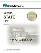 Nevada State Law, RealtySchool.com, Division, Nevada Real Estate, Acceptable Boo