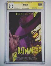 DC Comics Batman 40 CGC 9.6 Mask Movie Cover Homage - Death Batman & Joker