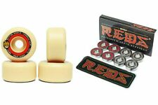 Spitfire Skateboard Wheels F4 Formula Four Tablets 52mm 101 Bones Reds Bearings