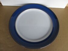 Denby Imperial Blue Gourmet Plate New Second Quality Excellent Condition