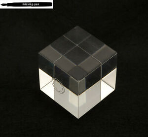 Montblanc CLEAR small promotion / decoration cube Flat
