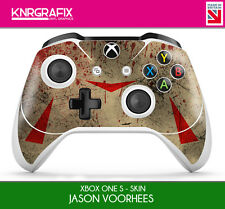 KNR6642 PREMIUM XBOX ONE S CONTROLLER JASON VOORHEES INSPIRED FRIDAY 13TH SKIN