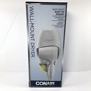 CONAIR Wall Mount Hair Dryer-NEW