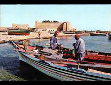 HAMMAMET (TUNISIE) MARINS PECHEURS en 1985