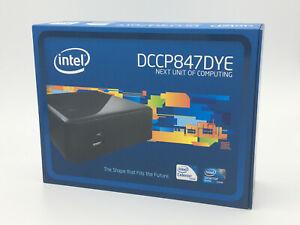 Intel NUC PC (DCCP847DYE) Intel Celeron 847 + 64Go SSD + 8Go (2x4Go) RAM