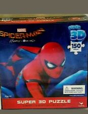 SPIDER-MAN HOMECOMING SUPER 3 D PUZZLE 2017 MARVEL SIZE 18 X 12 150 PIECES NEW