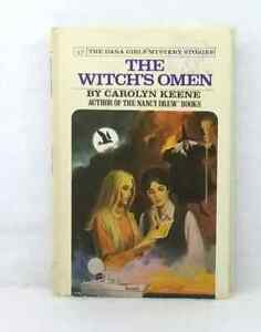 The Witch's Omen Carolyn Keene #17 Dana Girls Mystery Stories vintage hardcover