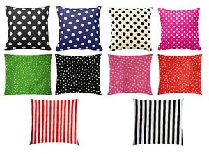 "Print 100% Cotton Cushion Cover  ** Available 10"" to 24"" sizes"