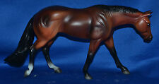 Breyer~Classic~2007~AQHA Blue Gold Family~Bay American Quarter Horse Mare
