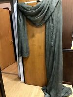 """Lisette Sheer Scarf Valance 60"""" x 220"""" (JCP Home - Color: Olive Green)"""