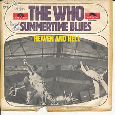 """7"""" - The Who - Summertime Blues / Heaven And Hell - Polydor 2058044 - DE 1970"""