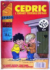 """b)SPIROU N°2623; Avec le Spirou Poche """"Le jeux dangereux"""""""