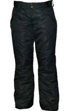 Pulse Womens Plus Size Technical Insulated Snow Pants Black sz 6X 6XL $125