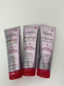Lot Of 3 NEW L'Oreal Paris EverPure Sulfate Free Conditioner Rosemary 8.5 Oz