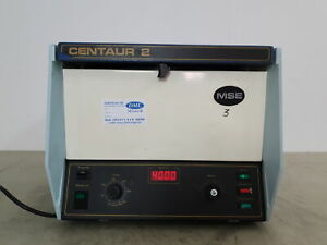 MSE Centaur 2 Centrifuge Lab w/ Rotor