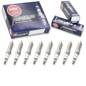 8 pc NGK Iridium IX Spark Plugs for 2014-2020 GMC Sierra 1500 5.3L 6.2L V8 ya