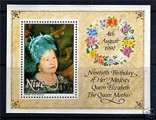 Niue 1990 Queen Mother 90th Birthday MS699 MNH