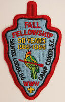 OA Lodge 116 Santee eA1988-3, Fdl; Fall Fellowship [D1744]