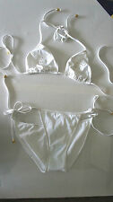 BNWT white PUCCI butterfly  bikini set, UK size 18-10-, It 40, RRP £710.00