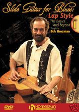 Slide Guitar For Blues Lap Style Bob Brozman 2 Dvd Set