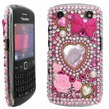 Bling Diamond Diamante Crystal Gem Case Cover for Blackberry 9220 9320 Curve UK