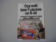 advertising Pubblicità 1976 TE' ATI