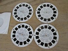 View Master GAF Disney The Island at the Top of the World RARE 4 Reel Set MOBIL