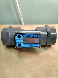 FLOMEC TM Series Water Meter for Water Processing and Irrigation Applications, 1