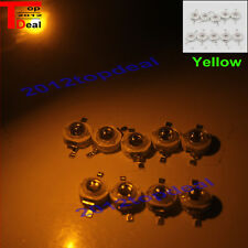 NEW 100PCS/LOT 3W High power LED CHIP beads lamp white blue red green yellow