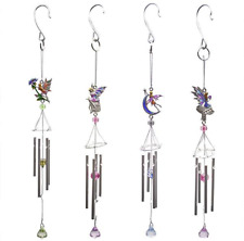 Fairy Windchime - Wind Chime Crystals Available 4 Choices Love Hope Star Flower