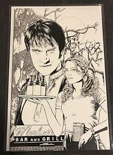 True Blood #4 Cover C Corroney Sketch 1:10 Incentive IDW Publishing Comic RARE