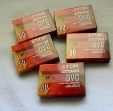 TDK Mini DVC 60 min Superior Grade Blank DV Tape for Camcorders
